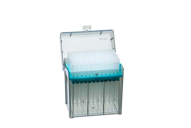 Thermo Scientific™ ClipTip™ Pipette Tips ClipTip™ Pipette Tips; Volume: 50 to 1250μL; Color code: Turquoise; Sterility: Non-sterile; Unit Size: 8 × Racks of 96 tips (768 tips in total) Products