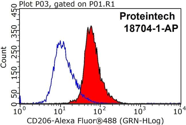 CD206 Rabbit anti-Human, Mouse, Rat, Polyclonal, Proteintech 20 μL; Unconjugated Ver productos