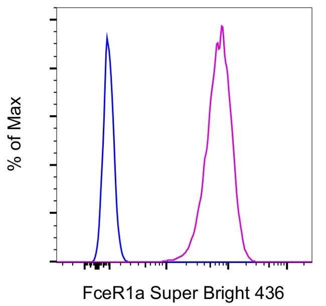 FceR1 alpha Armenian Hamster anti-Mouse, Super Bright 436, Clone: MAR-1, eBioscience™, Invitrogen™ 100μg; Super Bright 436 Produkte