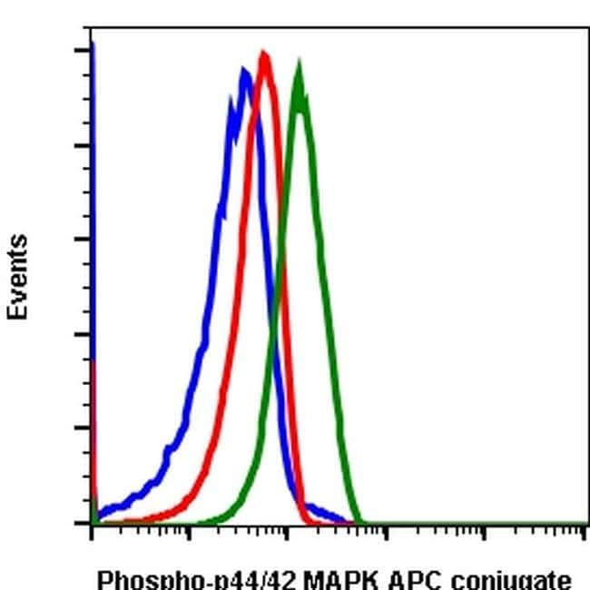 Phospho-ERK1/2 (Thr202, Tyr204) Rabbit anti-Human, Mouse, APC, Invitrogen