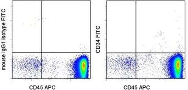 CD34 Mouse anti-Human, FITC, Clone: 4H11, eBioscience ::