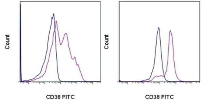 CD38 Mouse anti-Human, FITC, Clone: HIT2, eBioscience ::