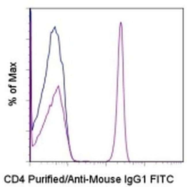 IgG1 Rat anti-Mouse, FITC, eBioscience™ 100 μg; FITC IgG1 Rat anti-Mouse, FITC, eBioscience™