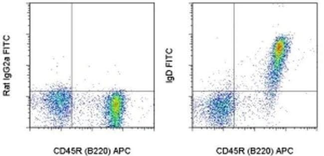 IgD Rat anti-Mouse, FITC, Clone: 11-26c (11-26), eBioscience™ 500 μg; FITC IgD Rat anti-Mouse, FITC, Clone: 11-26c (11-26), eBioscience™