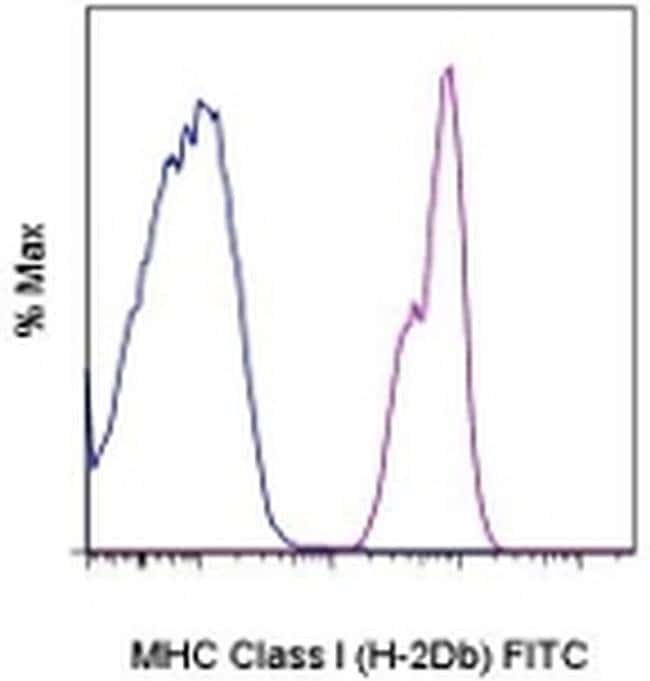 MHC Class I (H-2Db) Mouse anti-Mouse, FITC, Clone: 28-14-8, eBioscience™ 50 μg; FITC MHC Class I (H-2Db) Mouse anti-Mouse, FITC, Clone: 28-14-8, eBioscience™