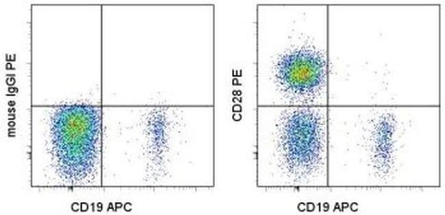 CD28 Mouse anti-Human, PE, Clone: CD28.2, eBioscience ::