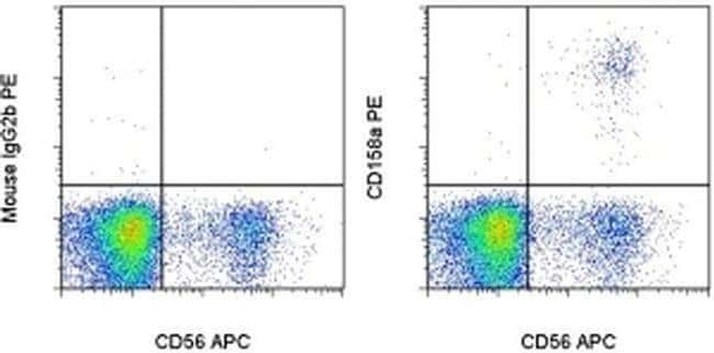 CD158a/h/g Mouse anti-Human, PE, Clone: HP-MA4, eBioscience™ 25 Tests; PE CD158a/h/g Mouse anti-Human, PE, Clone: HP-MA4, eBioscience™