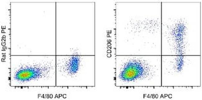 CD206 (MMR) Rat anti-Mouse, PE, Clone: MR6F3, eBioscience ::