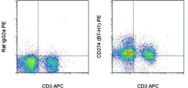 CD274 (PD-L1, B7-H1) Rat anti-Mouse, PE, Clone: MIH5, eBioscience ::