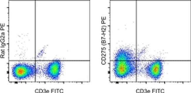 CD275 (B7-H2) Rat anti-Mouse, PE, Clone: HK5.3, eBioscience™ 100 μg; PE Products