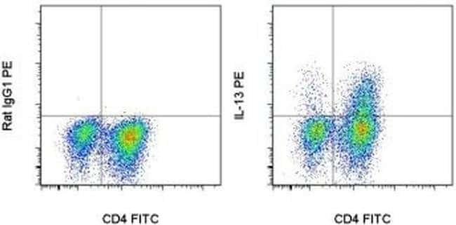 IL-13 Rat anti-Mouse, PE, Clone: eBio13A, eBioscience ::