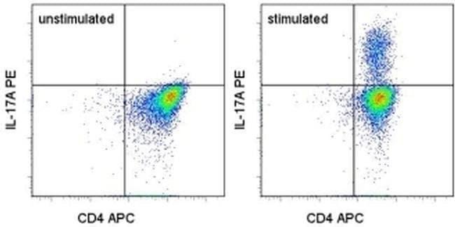 IL-17A Mouse anti-Human, PE, Clone: eBio64DEC17, eBioscience™ 25 Tests; PE IL-17A Mouse anti-Human, PE, Clone: eBio64DEC17, eBioscience™
