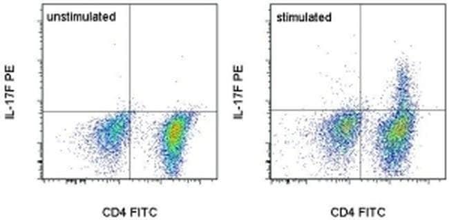 IL-17F Rat anti-Mouse, PE, Clone: eBio18F10, eBioscience™ 25 μg; PE IL-17F Rat anti-Mouse, PE, Clone: eBio18F10, eBioscience™