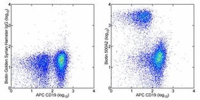 CD3e Syrian Hamster anti-Mouse, Biotin, Clone: eBio500A2 (500A2), eBioscience™ 500 μg; Biotin CD3e Syrian Hamster anti-Mouse, Biotin, Clone: eBio500A2 (500A2), eBioscience™