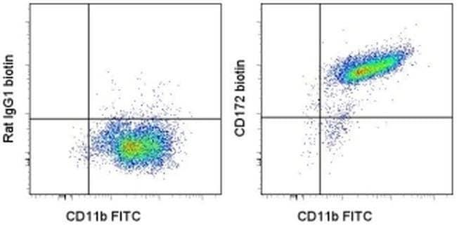 CD172a (SIRP alpha) Rat anti-Mouse, Biotin, Clone: P84, eBioscience™ 25 μg; Biotin CD172a (SIRP alpha) Rat anti-Mouse, Biotin, Clone: P84, eBioscience™