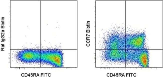 CD197 (CCR7) Rat anti-Human, Biotin, Clone: 3D12, eBioscience™ 25 μg; Biotin CD197 (CCR7) Rat anti-Human, Biotin, Clone: 3D12, eBioscience™