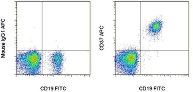 CD37 Mouse anti-Human, APC, Clone: MB-1, eBioscience ::