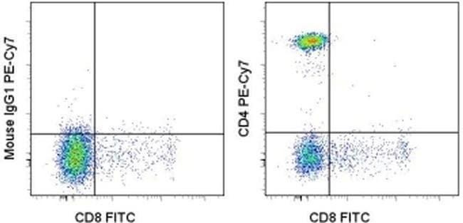 CD4 Mouse anti-Human, PE-Cyanine7, Clone: SK3 (SK-3), eBioscience™ 25 Tests; PE-Cyanine7 CD4 Mouse anti-Human, PE-Cyanine7, Clone: SK3 (SK-3), eBioscience™