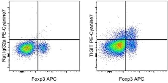 TIGIT Rat anti-Mouse, PE-Cyanine7, Clone: GIGD7, eBioscience™ 25 μg; PE-Cyanine7 TIGIT Rat anti-Mouse, PE-Cyanine7, Clone: GIGD7, eBioscience™