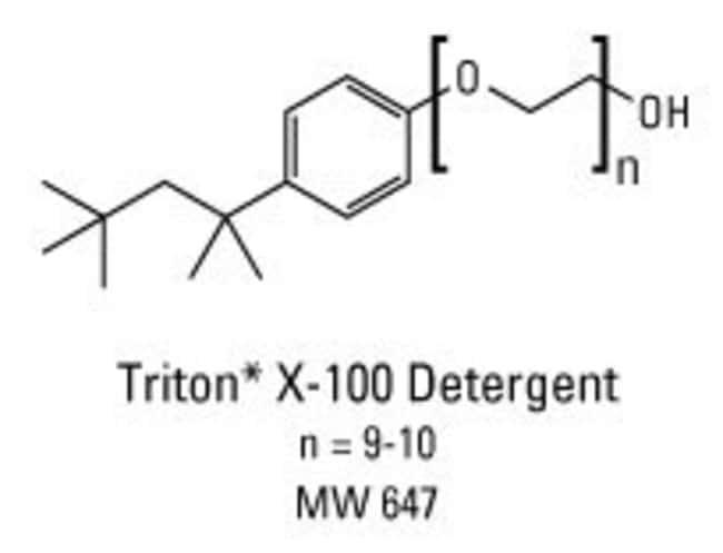 Thermo Scientific™Solution détergente Triton X-100 Surfact-Ams™: Purification de protéines Extraction et purification des protéines