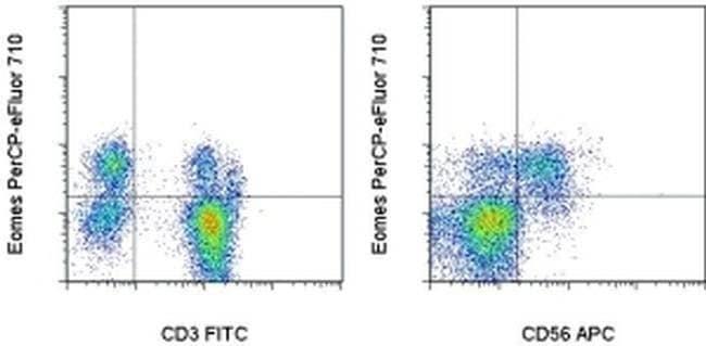 EOMES Mouse anti-Human, Porcine, PerCP-eFluor 710, Clone: WD1928, eBioscience