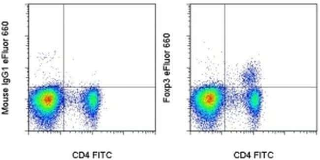 FOXP3, eFluor 660, clone: 150D/E4, eBioscience™ 25 Tests; eFluor 660 Primary Antibodies Fo to Fz