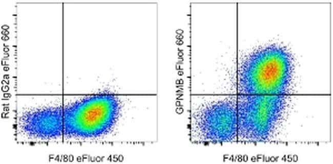 GPNMB Rat anti-Mouse, eFluor® 660, Clone: CTSREVL, eBioscience™: Primary Antibodies - Alphabetical Primary Antibodies