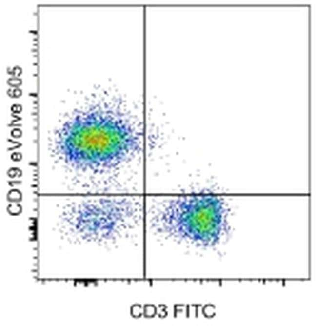 CD19, eVolve 605, clone: eBio1D3 (1D3), eBioscience™ 100 Tests; eVolve 605 CD19, eVolve 605, clone: eBio1D3 (1D3), eBioscience™