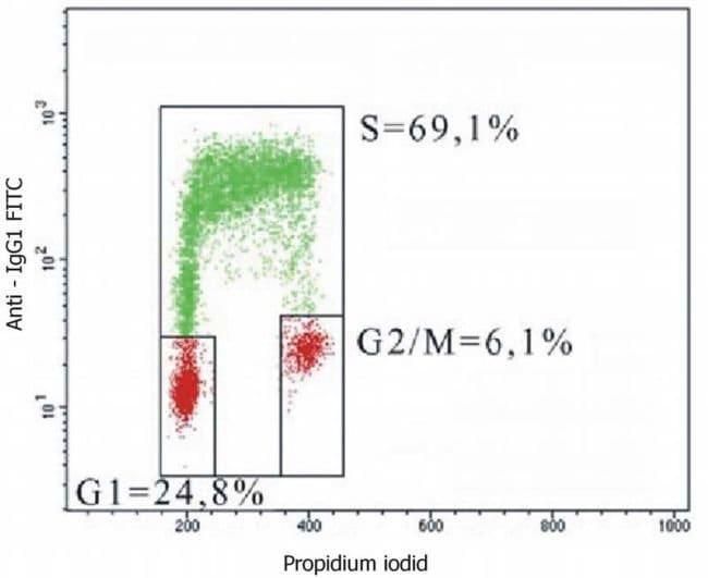 BrdU Mouse anti-Chemical, Clone: MoBU-1, Invitrogen 100 µg; Unconjugated