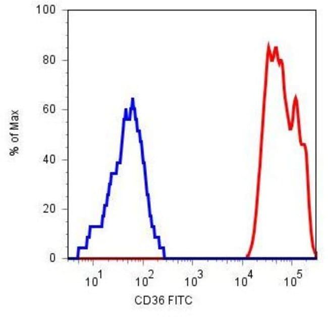 CD36 Mouse anti-Human, Clone: TR9, Invitrogen 100 µg; Unconjugated