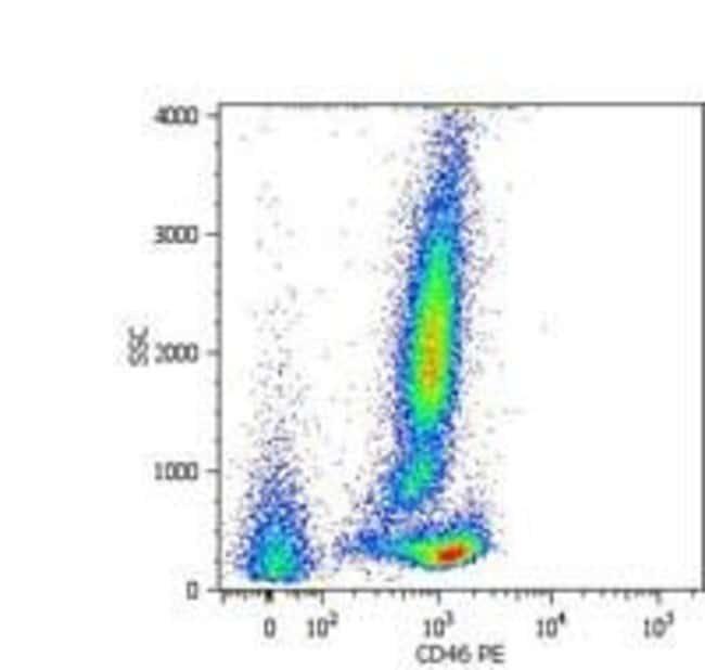 CD46 Mouse anti-Bovine, Human, PE, Clone: MEM-258, Invitrogen 100 tests;