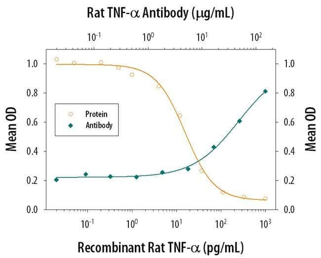 TNF alpha Mouse anti-Rat, Clone: 45418, Invitrogen 500 µg; Unconjugated