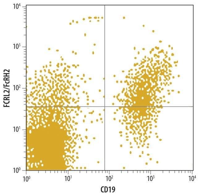 FCRL2 Mouse anti-Human, Clone: 296902, Invitrogen 100 µg; Unconjugated