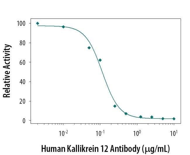 Kallikrein 12 Mouse anti-Human, Clone: 364932, Invitrogen 100 µg;