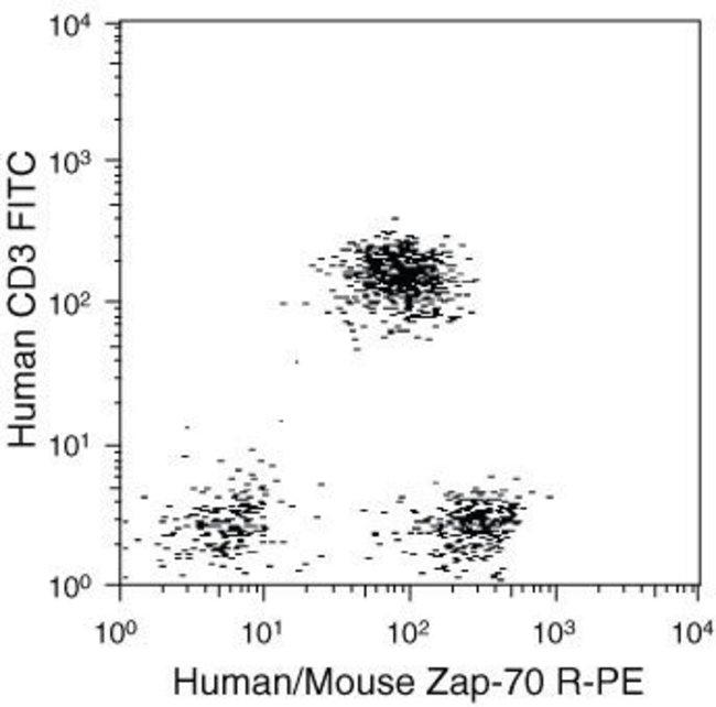 Zap-70, PE, clone: 1E7.2, Invitrogen™ 2mL; PE Zap-70, PE, clone: 1E7.2, Invitrogen™