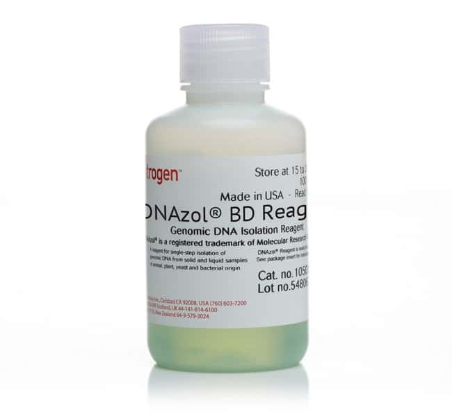 Invitrogen DNAzol BD Reagent, for isolation of genomic DNA from whole blood