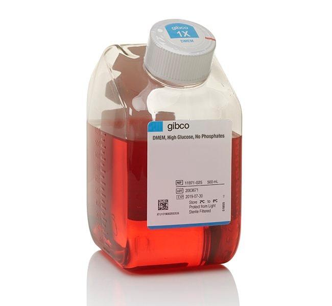 Gibco™DMEM, high glucose, no phosphates 500ml Klassische flüssige Zellkulturmedien