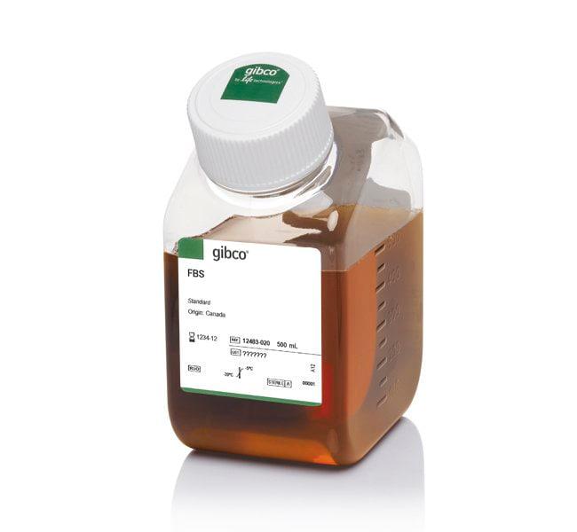 Gibco™Fetal Bovine Serum, qualified, One Shot™ format, Canada