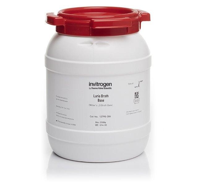 Invitrogen™Luria Broth Base (Miller's LB Broth Base)™, powder 500g Invitrogen™Luria Broth Base (Miller's LB Broth Base)™, powder
