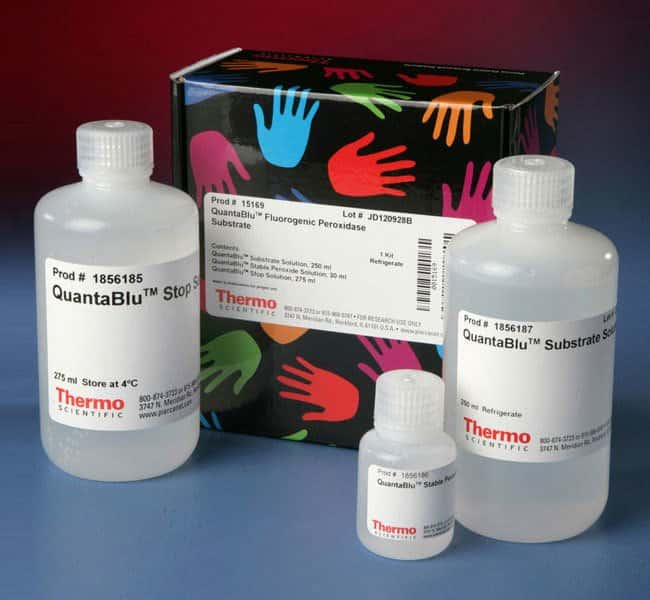 Thermo Scientific™QuantaBlu™ Fluorogenic Peroxidase Substrate QuantaBlu Peroxidase Substrate with stop solution Thermo Scientific™QuantaBlu™ Fluorogenic Peroxidase Substrate