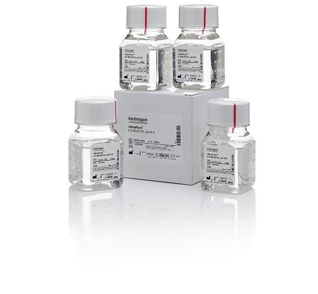 Invitrogen™UltraPure™ 0.5M EDTA, pH 8.0 4 x 100mL DNA Extraction and Purification