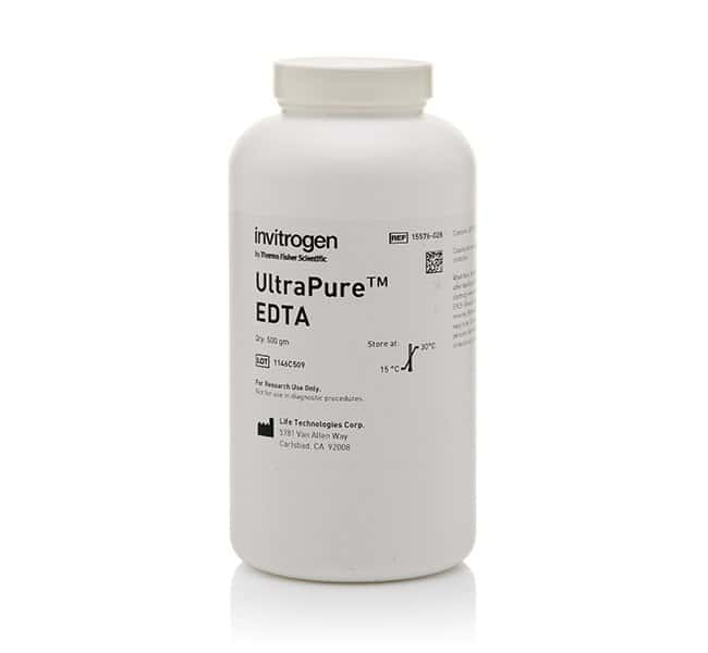 Invitrogen&trade;&nbsp;UltraPure&trade; Ethylenediaminetetraacetic Acid, Disodium Salt, Dihydrate (Na<sub>2</sub>EDTA&bull;2H<sub>2</sub>O)