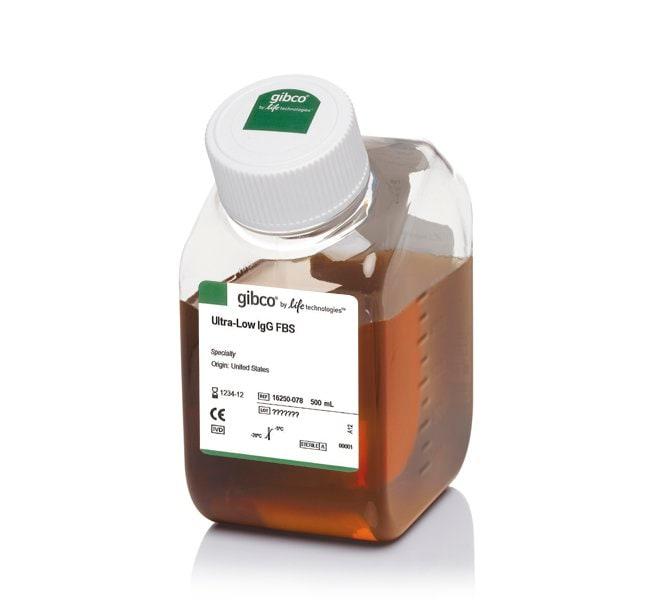 GibcoFetal Bovine Serum, ultra-low IgG, US origin, One Shot format:Cell