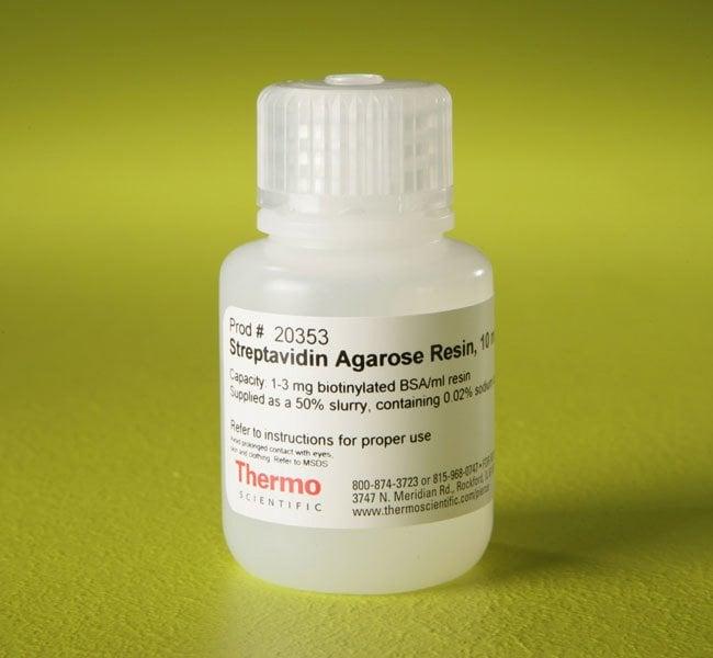 Thermo Scientific™Pierce™ Streptavidin Agarose Agarose resin; 10mL Thermo Scientific™Pierce™ Streptavidin Agarose