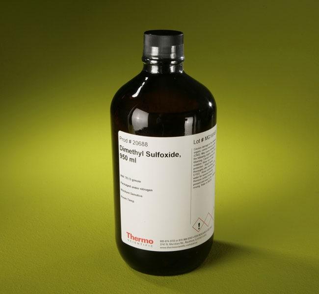 Thermo Scientific™Pierce™ Dimethylsulfoxide (DMSO), Sequencing Grade Dimethylsulfoxid; 950ml Lösungsmittel in HPLC- und Spektrophotometrie-Qualität