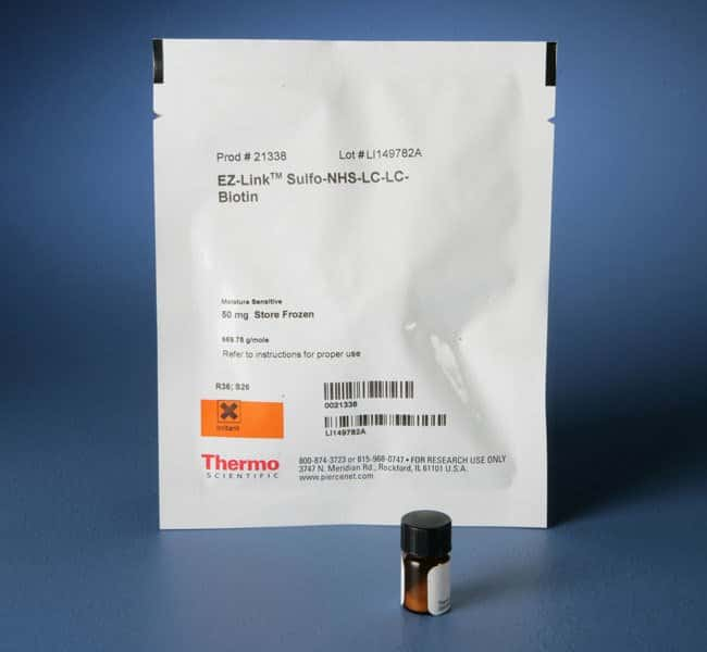 Thermo ScientificEZ-Link Sulfo NHS-LC-LC-Biotin, No-Weigh Format:Protein