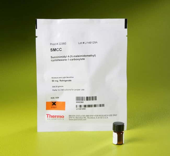 Thermo Scientific™ Pierce™ SMCC, No-Weigh™ Format 50mg Thermo Scientific™ Pierce™ SMCC, No-Weigh™ Format