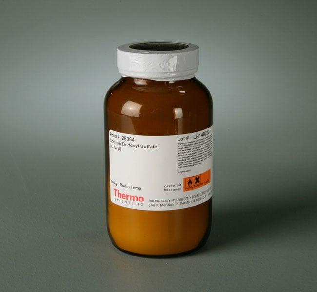 Thermo Scientific™Sodium Dodecyl Sulfate (SDS), Lauryl Braunes Pulver;100g Thermo Scientific™Sodium Dodecyl Sulfate (SDS), Lauryl