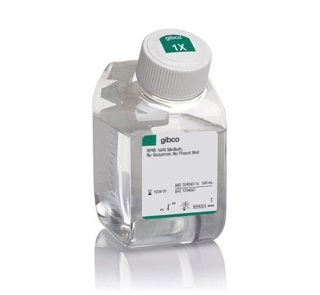 Gibco™RPMI 1640 Medium, ohne Glutamin, ohne Phenolrot 500ml Additional Cell Culture Media