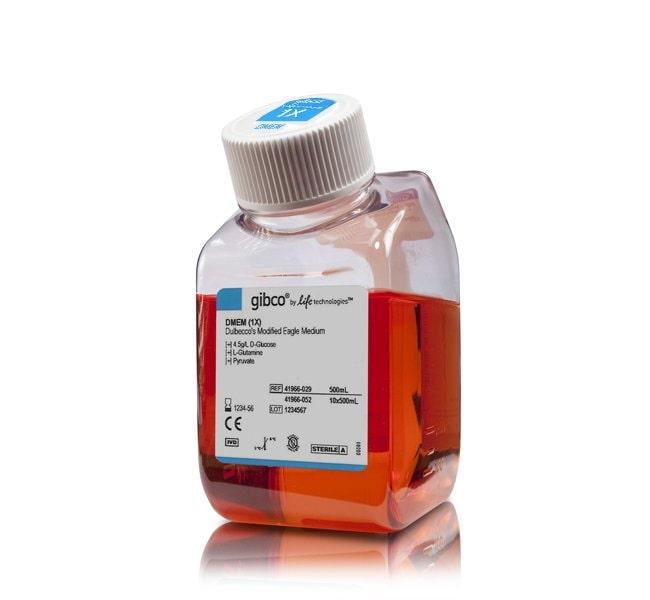 Gibco™DMEM, high glucose, pyruvate: Säugetier-Zellkulturmedien Zellkulturmedien